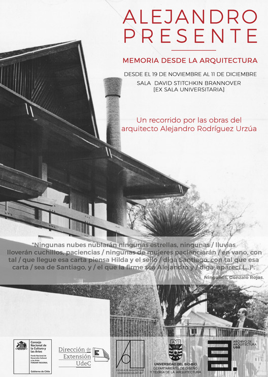 Alejandro Presente: memoria desde la arquitectura, Proyecto Alejandro Presente: Memoria desde la Arquitectura