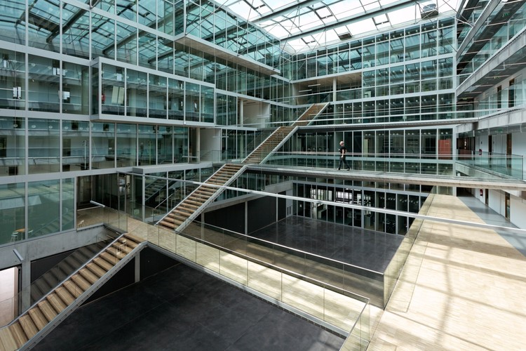 LMH Headquarters / Dietmar Feichtinger Architectes, Courtesy of Dietmar Feichtinger Architectes