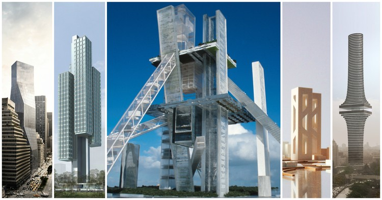 OMA's 15 Most Outrageous Unbuilt Skyscrapers