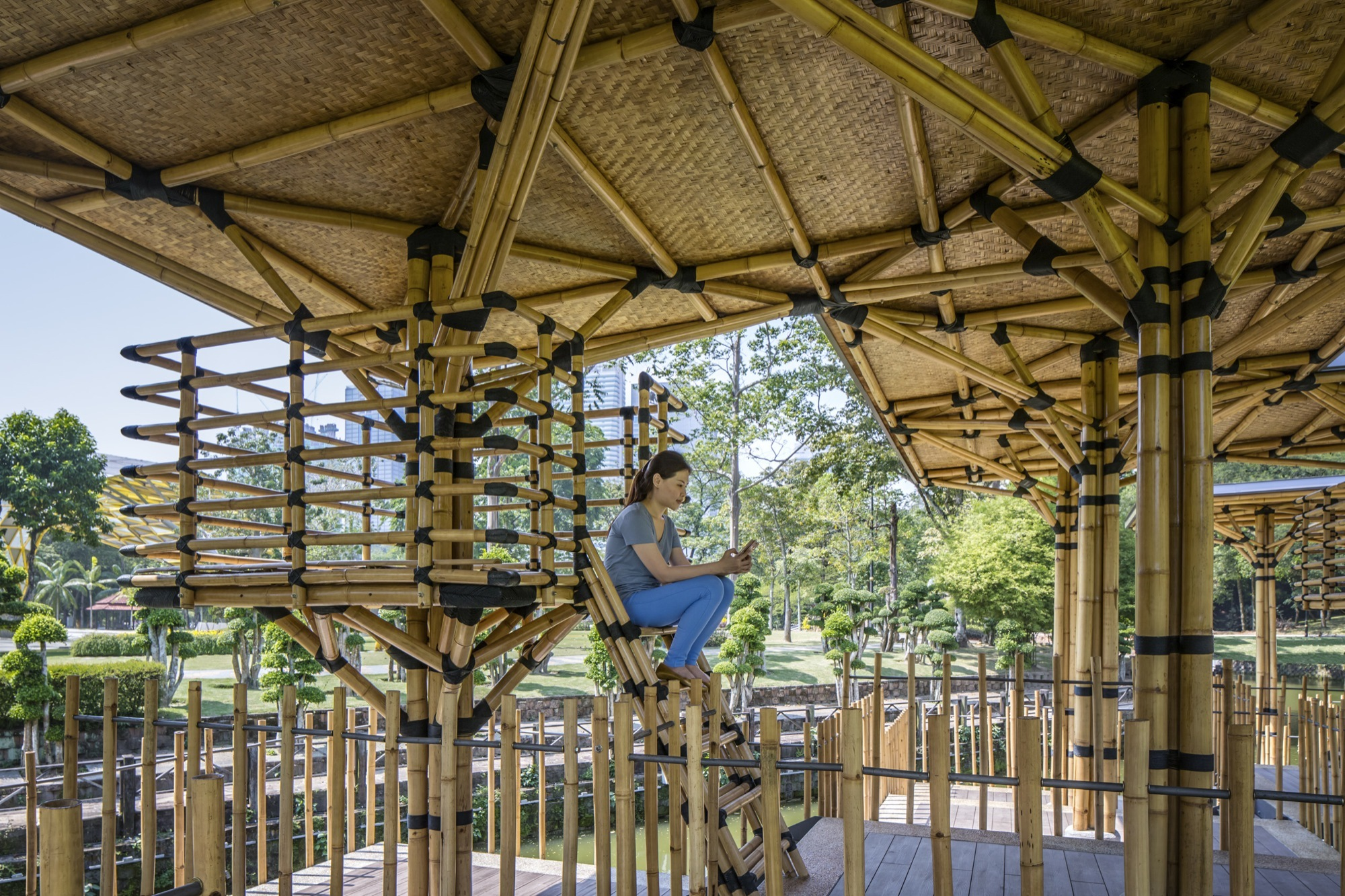 Gallery Of The Bamboo Playhouse Eleena Jamil Architect 9