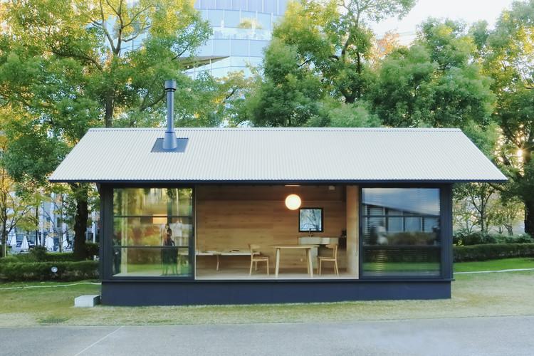 """Muji Unveils Tiny, Pre-Fabricated """"Huts"""" at Tokyo Design Week, A wooden hut by Naoto Fukasawa. Image Courtesy of MUJI"""