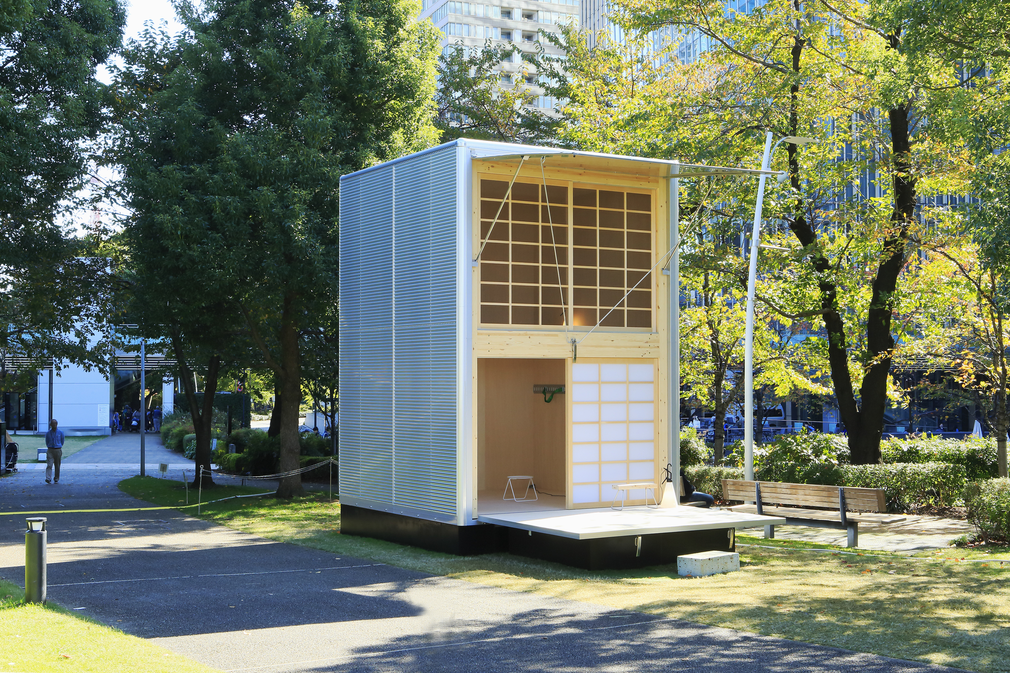Gallery Of Muji Unveils Tiny Pre Fabricated Huts At