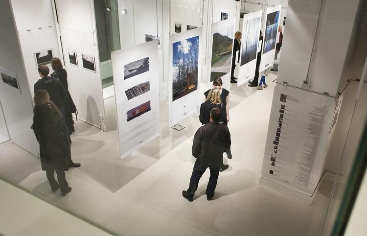 RCR Arquitectes Exhibition at Oris House of Architecture, Opening of the exhibition at Oris House of Architecture / photo Borko Vukosav
