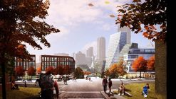 BIG, West 8 + Atelier Ten Unveil Masterplan for Pittsburgh's Lower Hill District