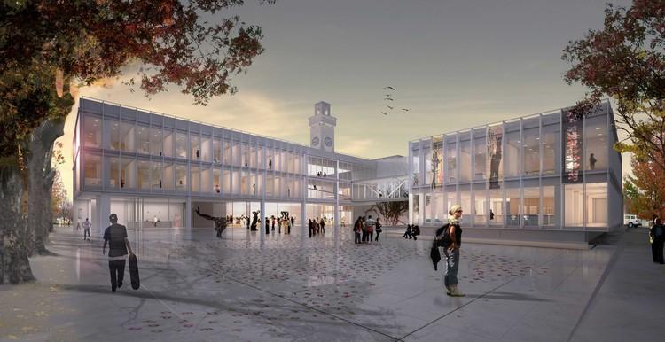 Tercer lugar en Intervención patrimonial del Palacio Municipal de General Pueyrredon en Argentina, Cortesía de Equipo Tercer Lugar