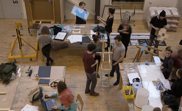 BIG, SANAA y Lacaton & Vassal, finalistas para diseñar la nueva Escuela de Arquitectura de Aarhus, La actual Escuela de Arquitectura de Aarhus. Imagen cortesía de la Escuela de Arquitectura de Aarhus