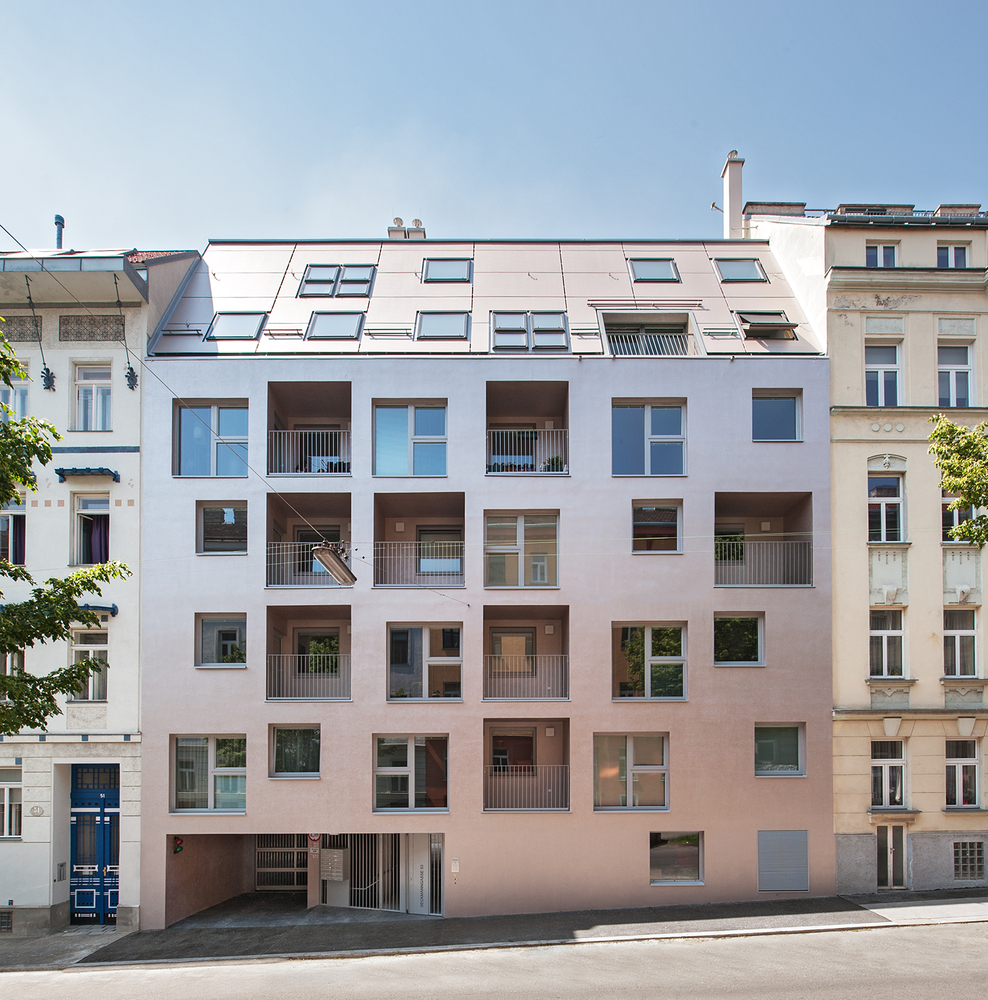 Superior Apartment House On Beckmanngasse,© Andreas Buchberger
