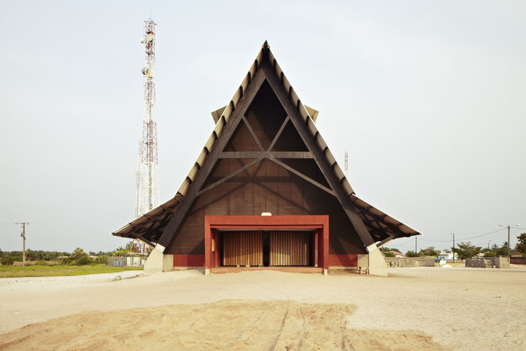 Issa Diabaté on His Work Reshaping Urban Africa, The Assinie-Mafia Church by Koffi & Diabaté Architectes. Image © François-Xavier Gbré