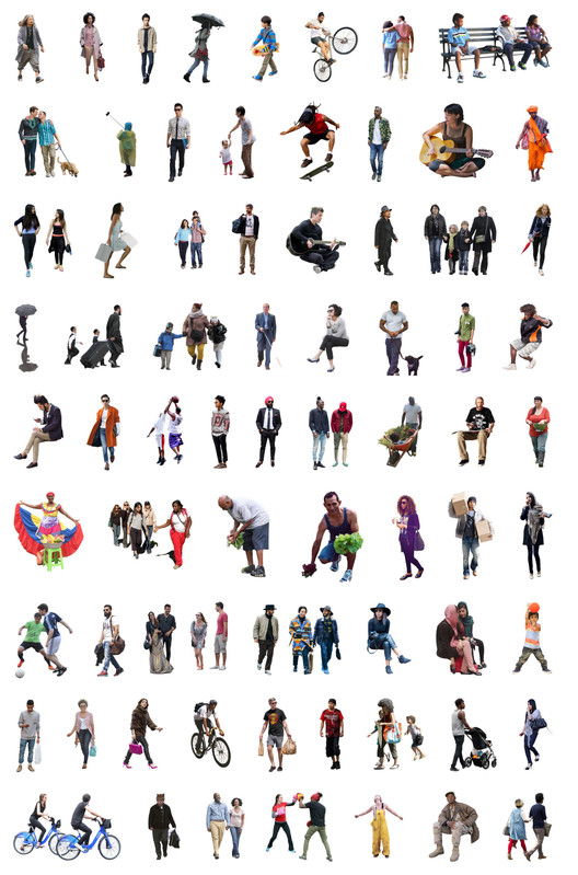 5 Places to Download Free, Ethnically Diverse Render People, via Nonscandinavia