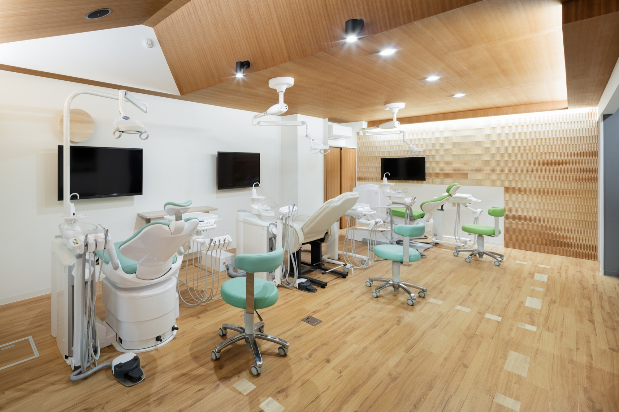 Gallery Of Dental Clinic With Coved Ceiling Hiroki