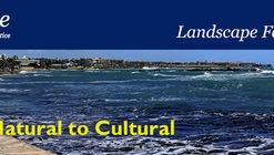 LE:NOTRE Landscape Forum 2016 - Call for Posters