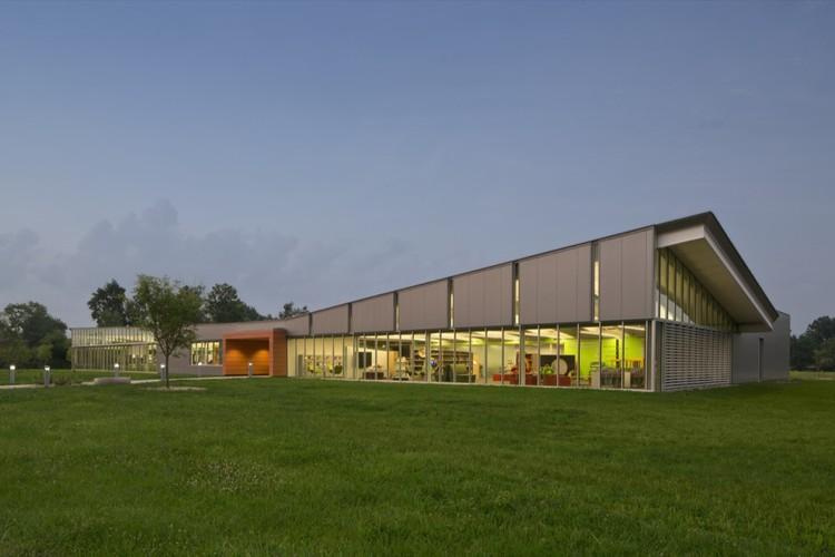 Biblioteca Whitehall / Jonathan Barnes Architecture and Design, © Brad Feinknopf