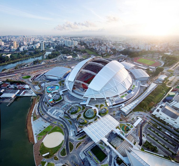 Arup's Singapore Sports Hub Deemed Best in Structural Engineering for 2015, Courtesy of DP Architects