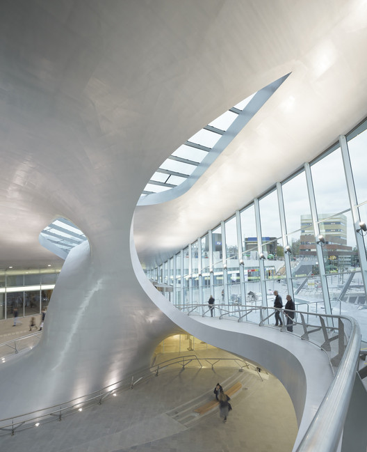 Terminal de transbordo Arnhem Central / UNStudio, © Ronald Tilleman