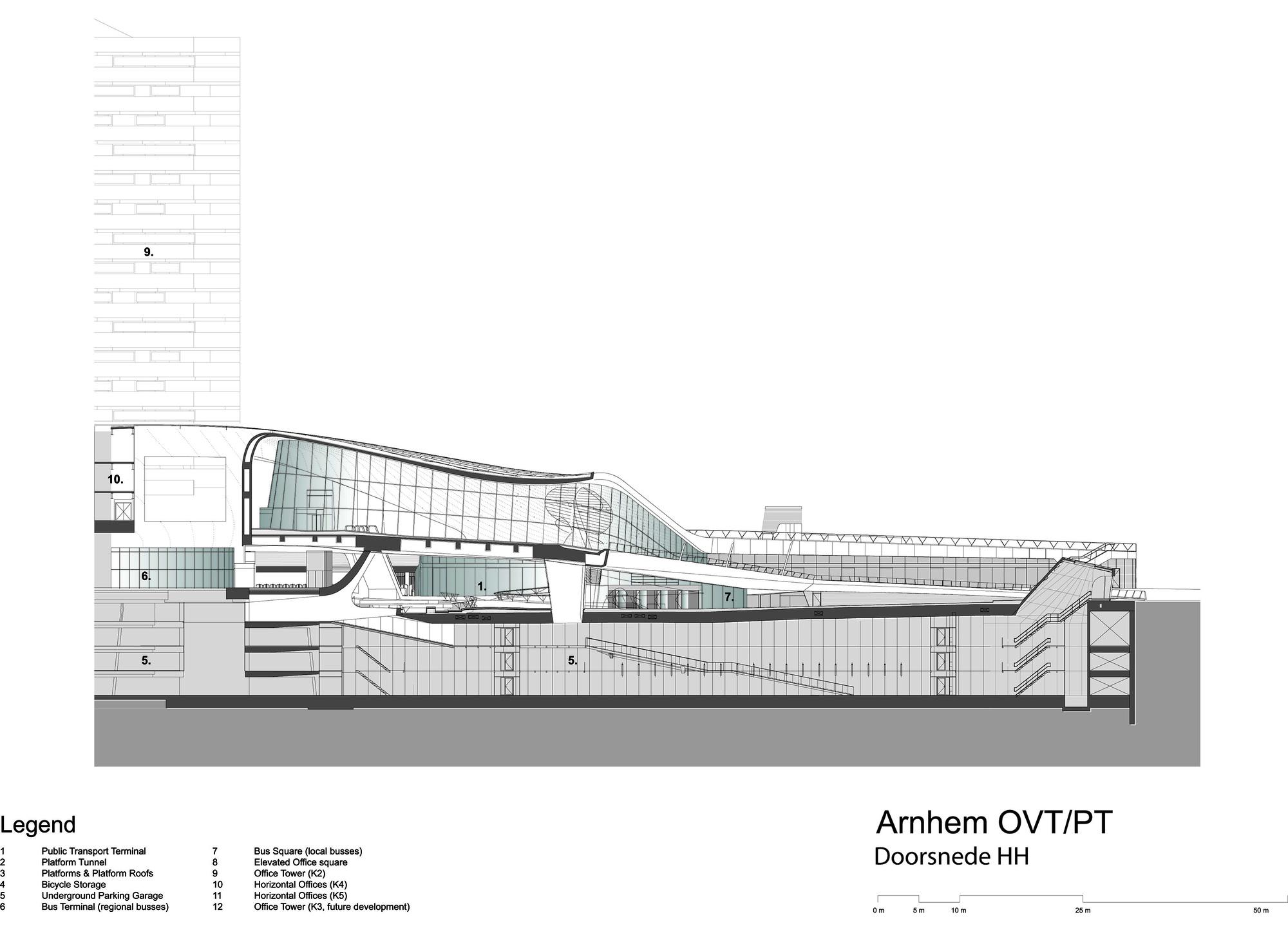 Gallery of Arnhem Central Transfer Terminal / UNStudio - 24