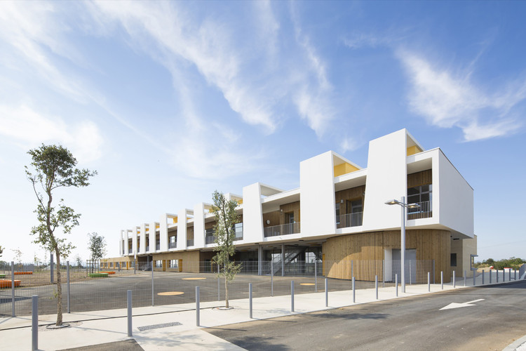 Escola Maternal Antoine Beille  / MDR Architectes, © Mathieu Ducros