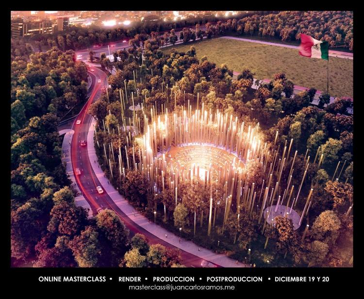 CGI Masterclass Online / Los Ángeles [¡Sorteo cerrado!], Proyecto: Memorial, Fernando Romero EnterprisE    //    Render: Juan Carlos Ramos