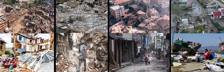 Reflexiones, análisis y aplicaciones de diseño para la regeneración urbana de una ciudad después de un terremoto, Terremotos ocurridos en los últimos meses. Image Cortesía de Cerasil Rangel Mungi