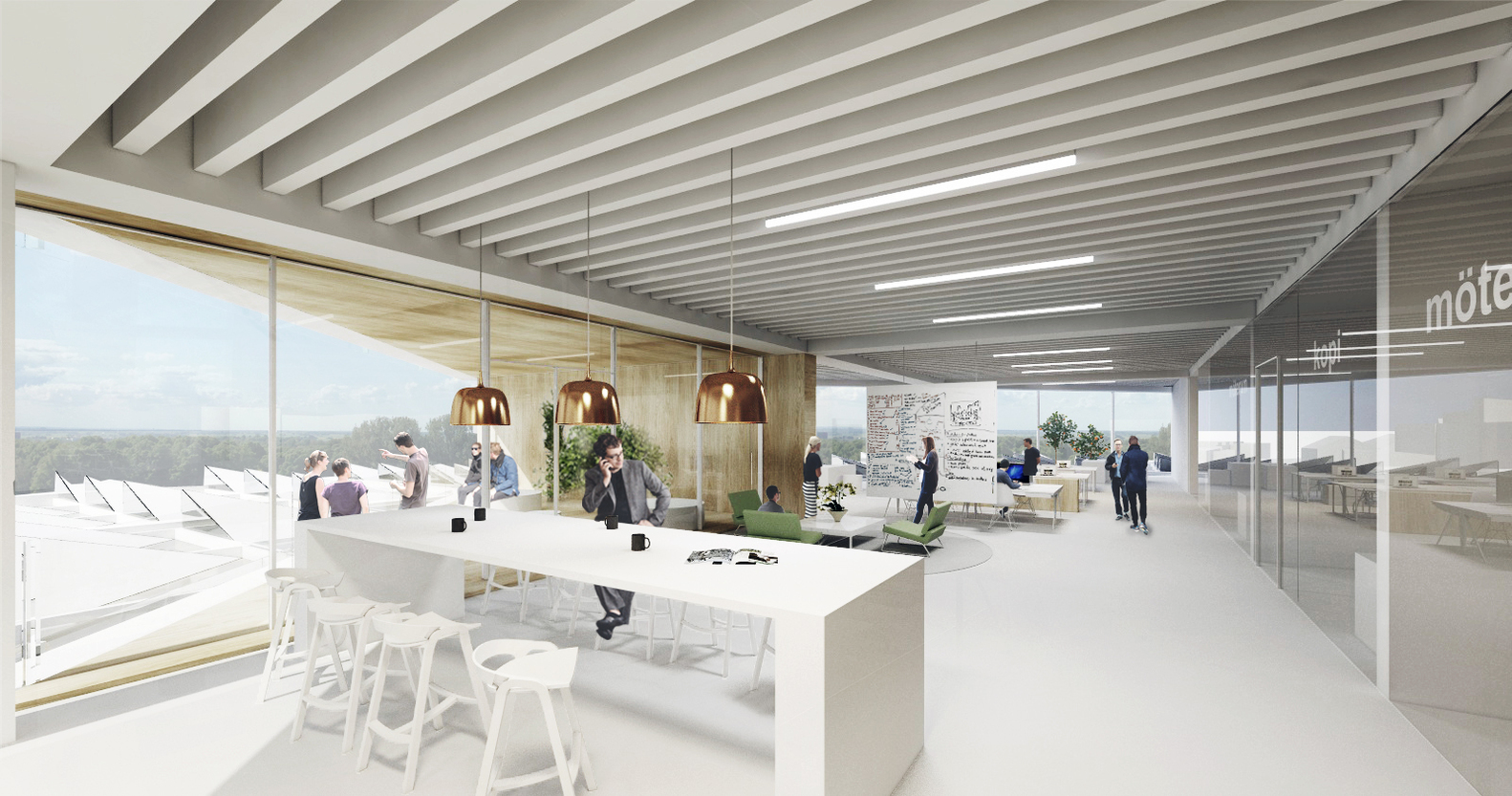 Elegant Henning Larsen Architects Wins Competition To Design A New Forum At Lund  University