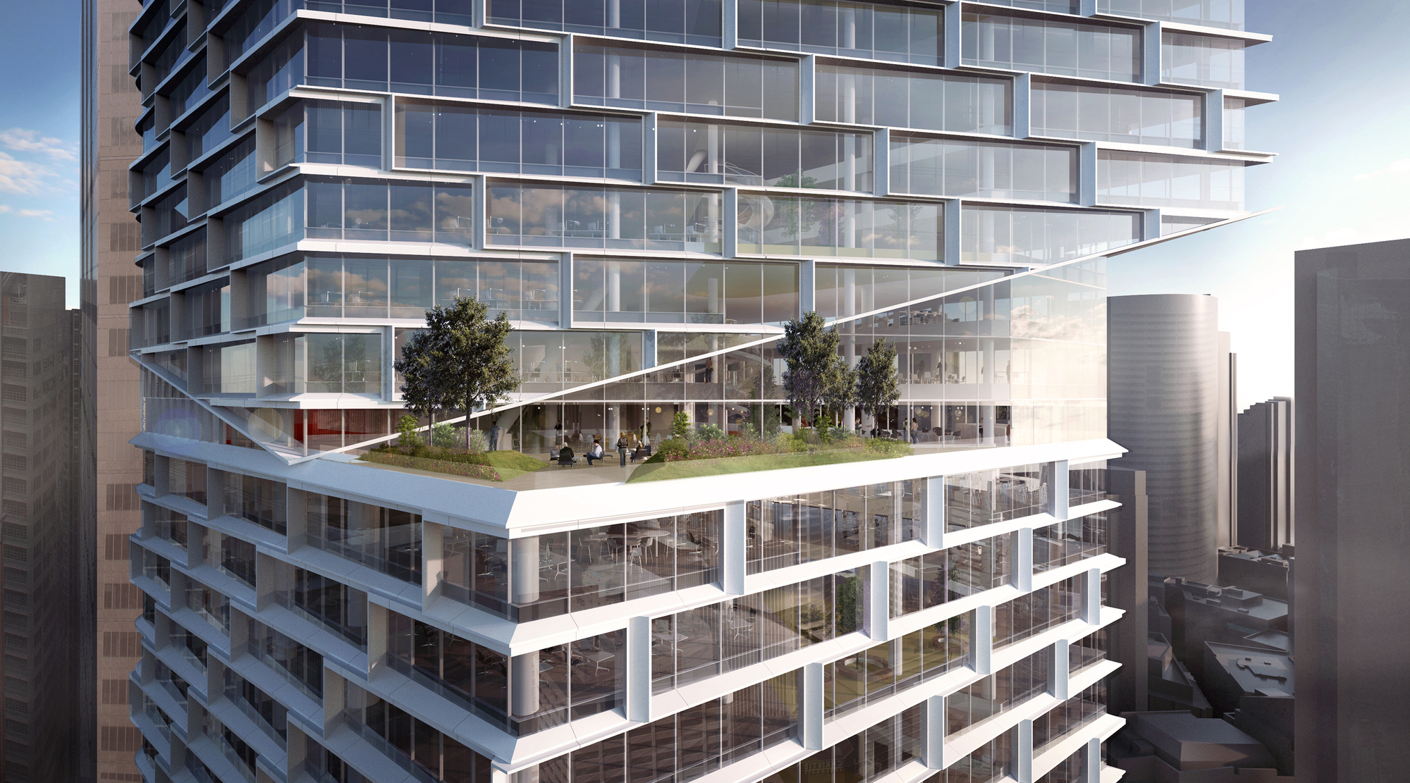 Gallery Of 3xn Wins Approval For 200 Meter Tower In Sydney
