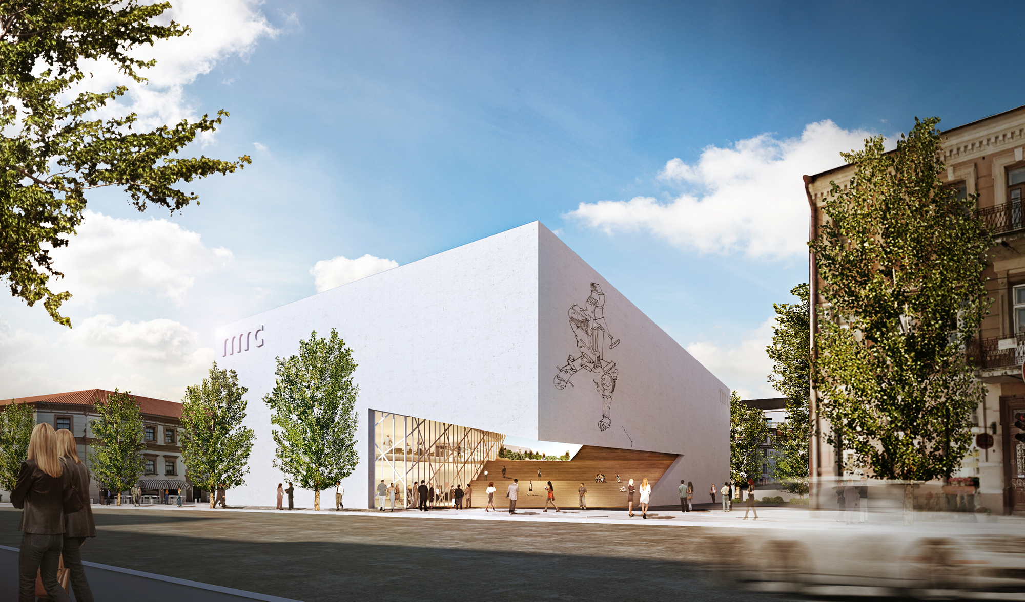 Libeskind Unveils Design For New Lithuanian Modern Art Center Archdaily