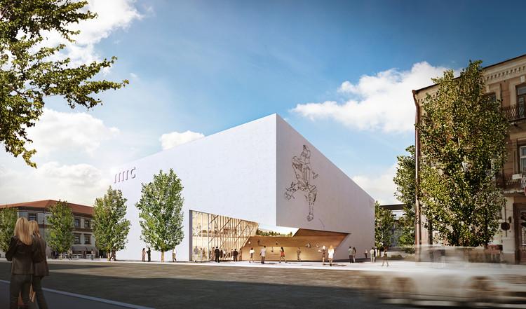 Libeskind Unveils Design for New Lithuanian Modern Art Center, © Studio Daniel Libeskind