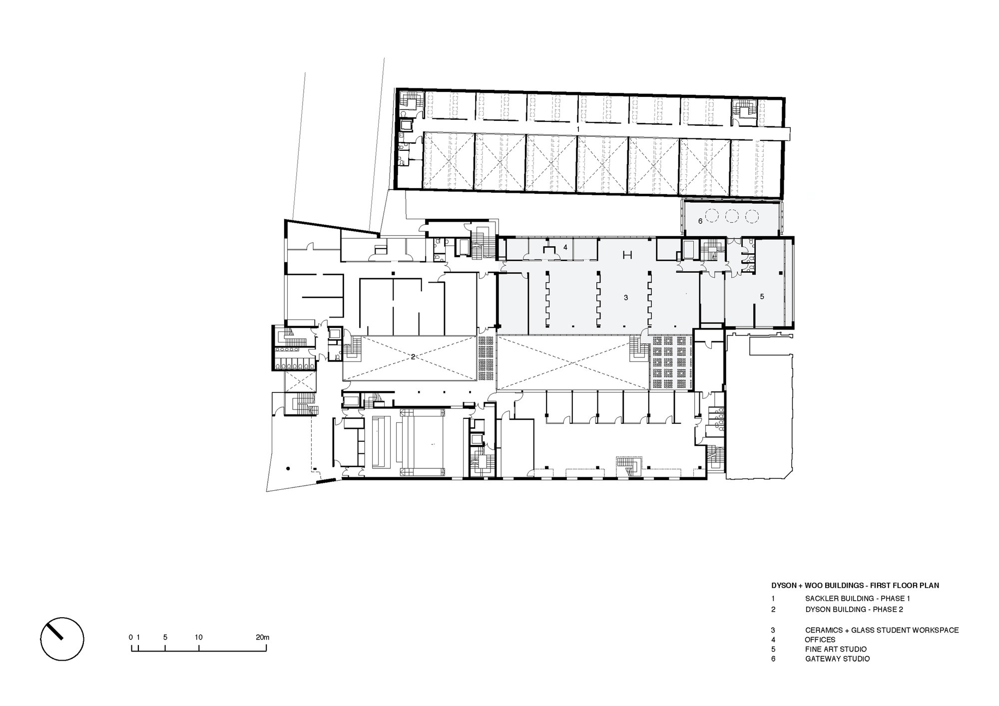 Gallery of royal college of art woo building haworth for Floor plans lafayette college