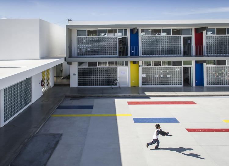 Colegio Nueva Era Álamo / HFS Arquitectos + MN Arquitectos, © Oscar Hernández