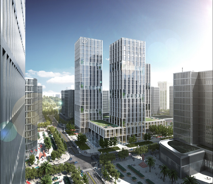 gmp Designs New Headquarters for CNPEC in Shenzhen, China, Courtesy of gmp Architekten