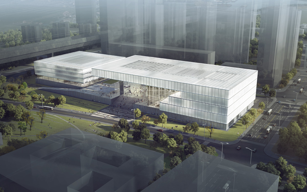Ksp J Rgen Engel Wins Competition For New Shenzhen Art Museum And Library Archdaily