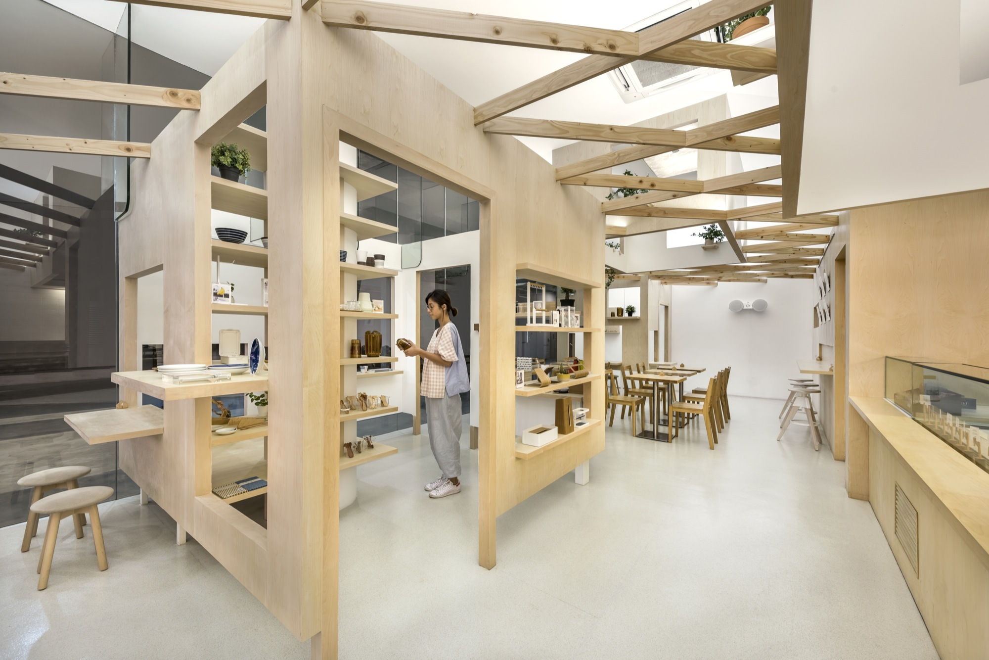Kki sweets and the little drom store produce workshop for Trend design shop