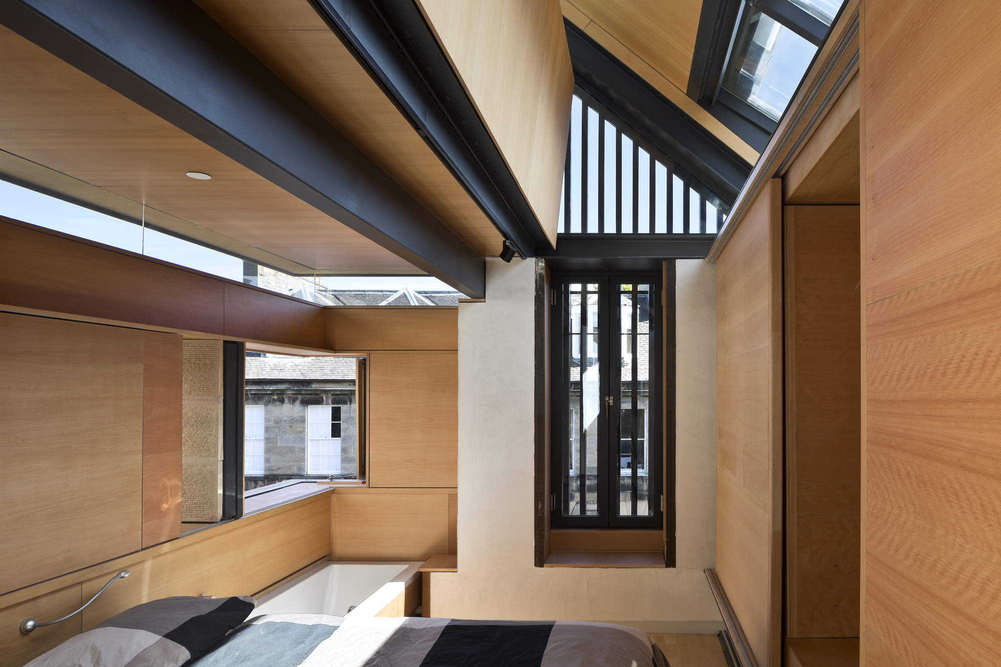 Murphy house richard murphy architects archdaily keith hunter rubansaba