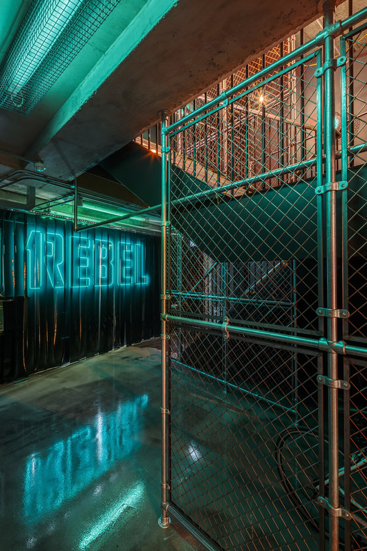 REBEL Gym / Studio C102, © Gareth Gardner