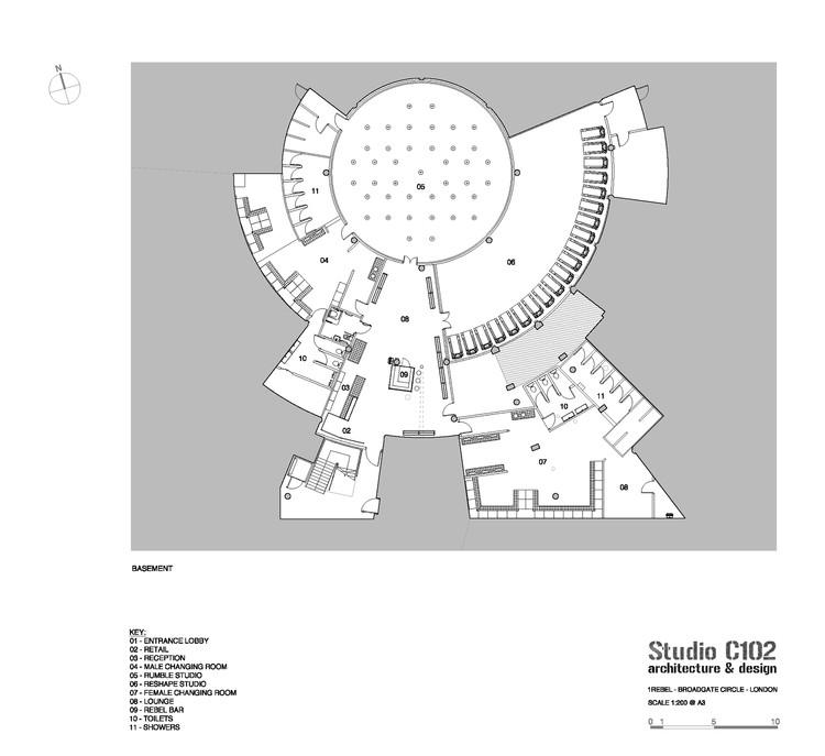Rebel Gym Studio C102 Archdaily