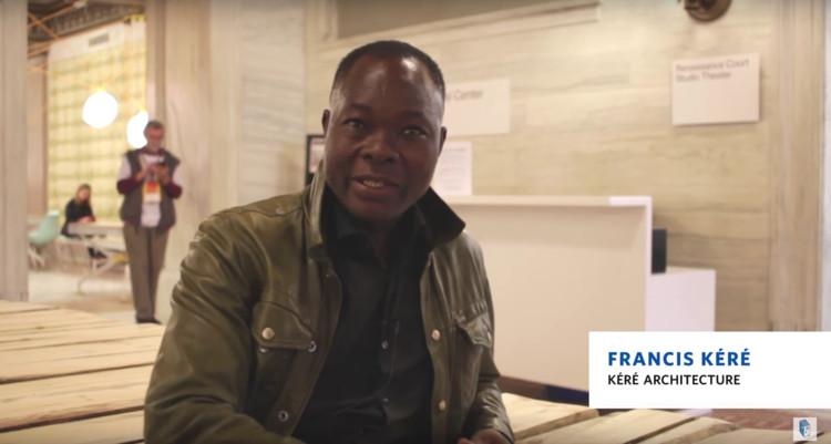 AD Interviews: Francis Kéré / Chicago Architecture Biennial