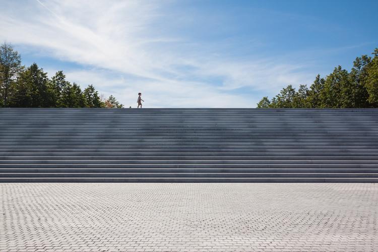 Four Freedoms Park de Louis Kahn bajo el lente de Lorena Darquea, © Lorena Darquea