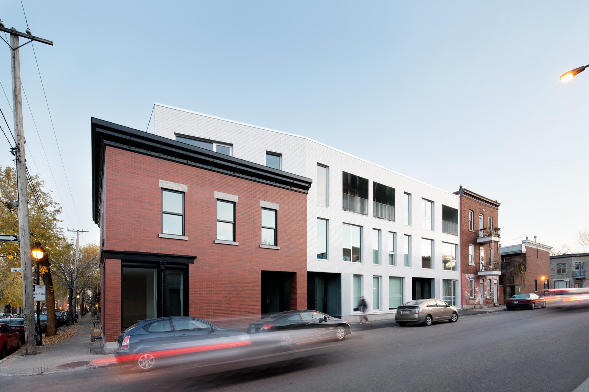 Residencia h tel de ville acdf architecture archdaily for Hotel de ville de londres architecture