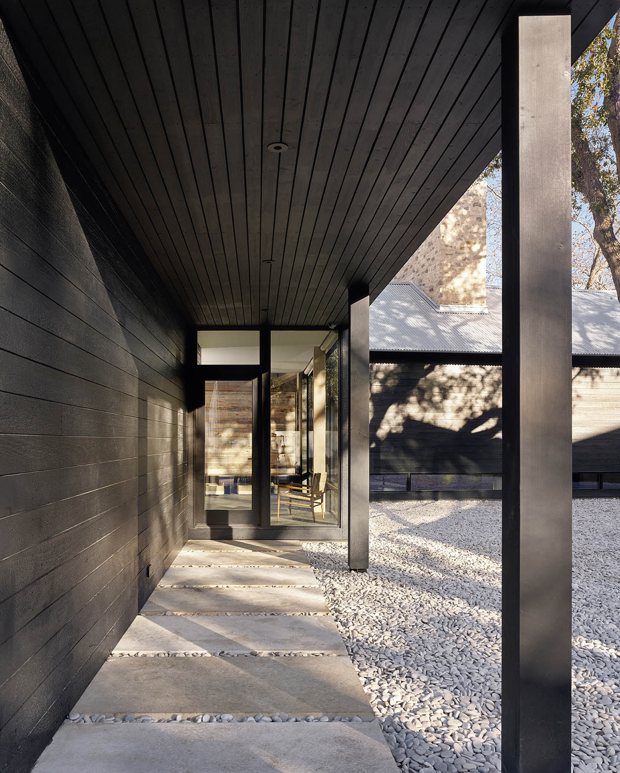 Covered Walkway Designs For Homes: Gallery Of Austin Home / Aamodt / Plumb Architects