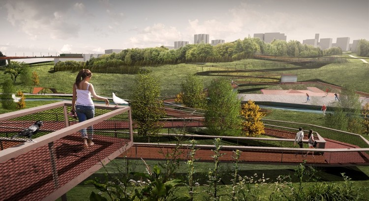 "Salon Unveils ""Keeping the Valley Alive"" Master Plan for Istanbul, © Salon"