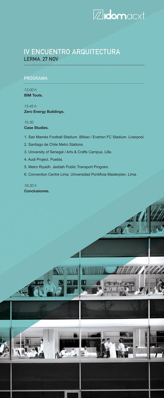 Assista ao vivo ao IV Encontro de Arquitetura IDOM