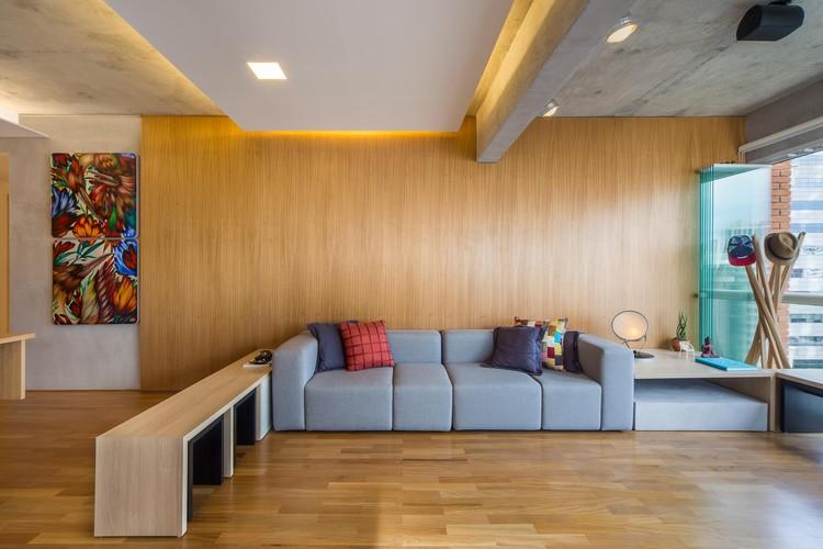 Apartamento Polidance / Casa100 Arquitetura, © Quadra 2 Fotografia
