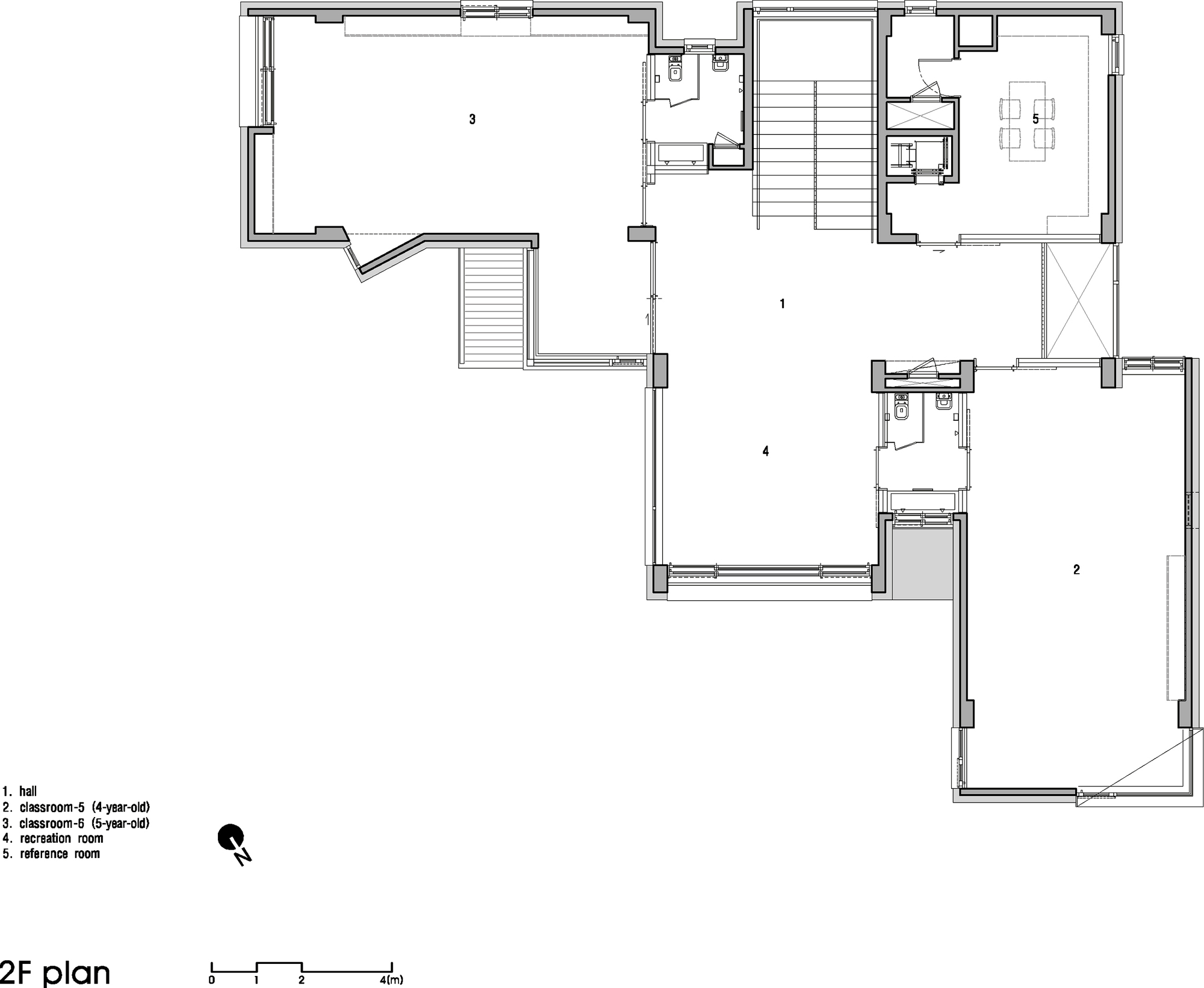 Gallery Of The Dodam Nursery School D Lim Architects 17