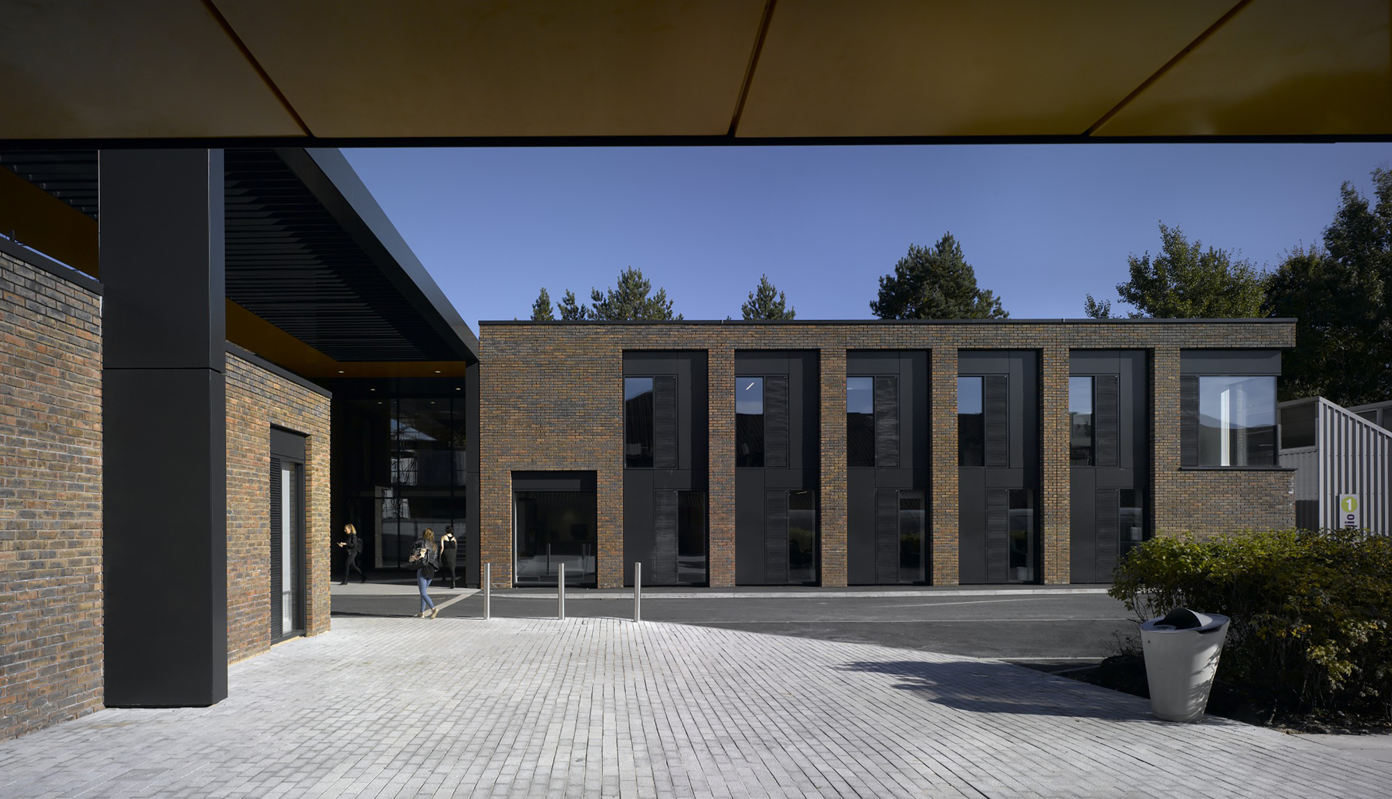 Gallery of student centre in the arts university for Ak decoration building services
