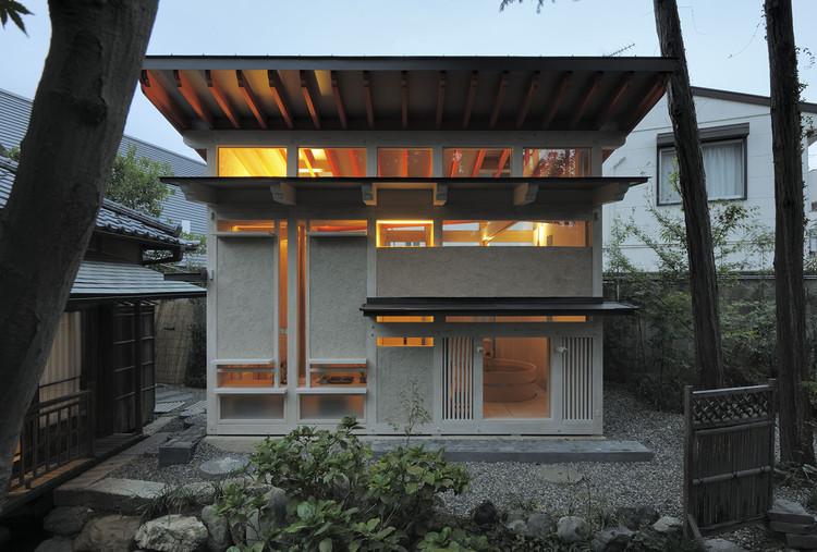 Bathhouse of Fireflies / TAKASAKI Architects, © Hiroyasu Sakaguchi