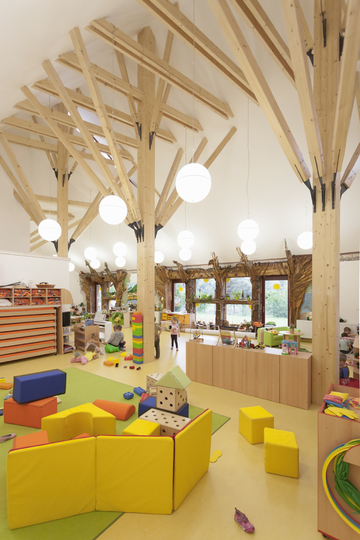 Modern Classroom In The ~ Gallery of kindergarten in dobrin atelier