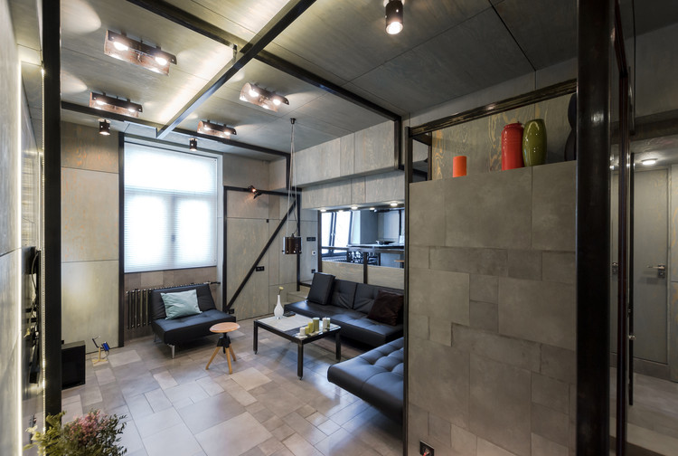 Apartamento Plywood / Alexey Rozenberg, © Victor Chernishev