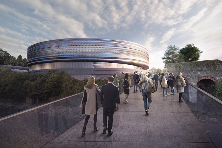 New Plans Unveiled for Populous' Bristol Arena , Courtesy of The Bristol City Council