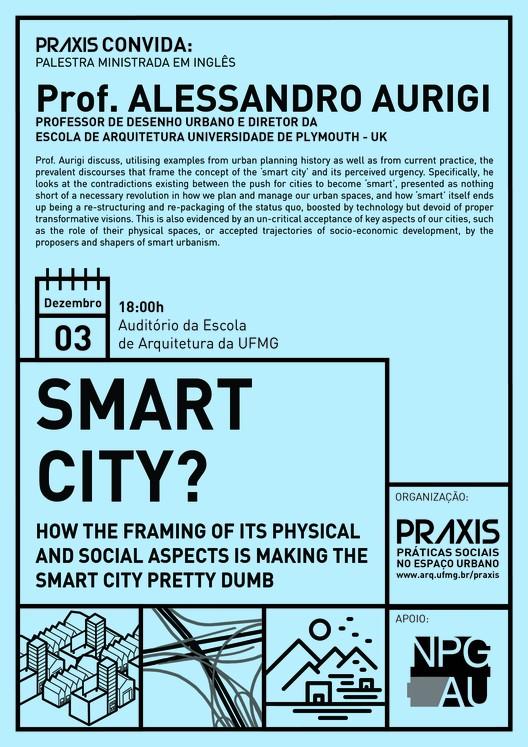 "UFMG promove palestra com Alessandro Aurigi sobre ""smart cities"""