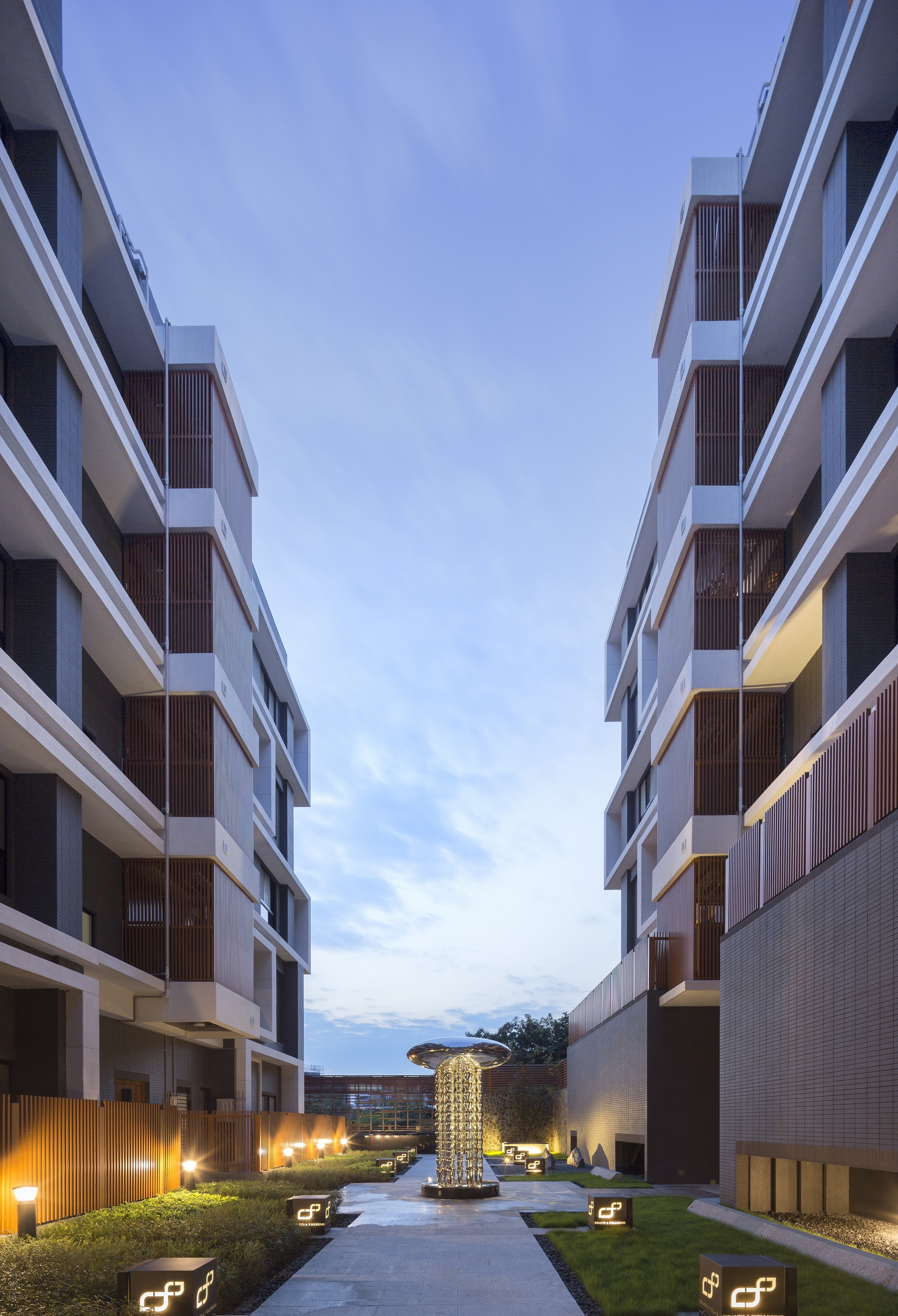 Apartment Complex apartment complex in qiyan / lrh architects | archdaily