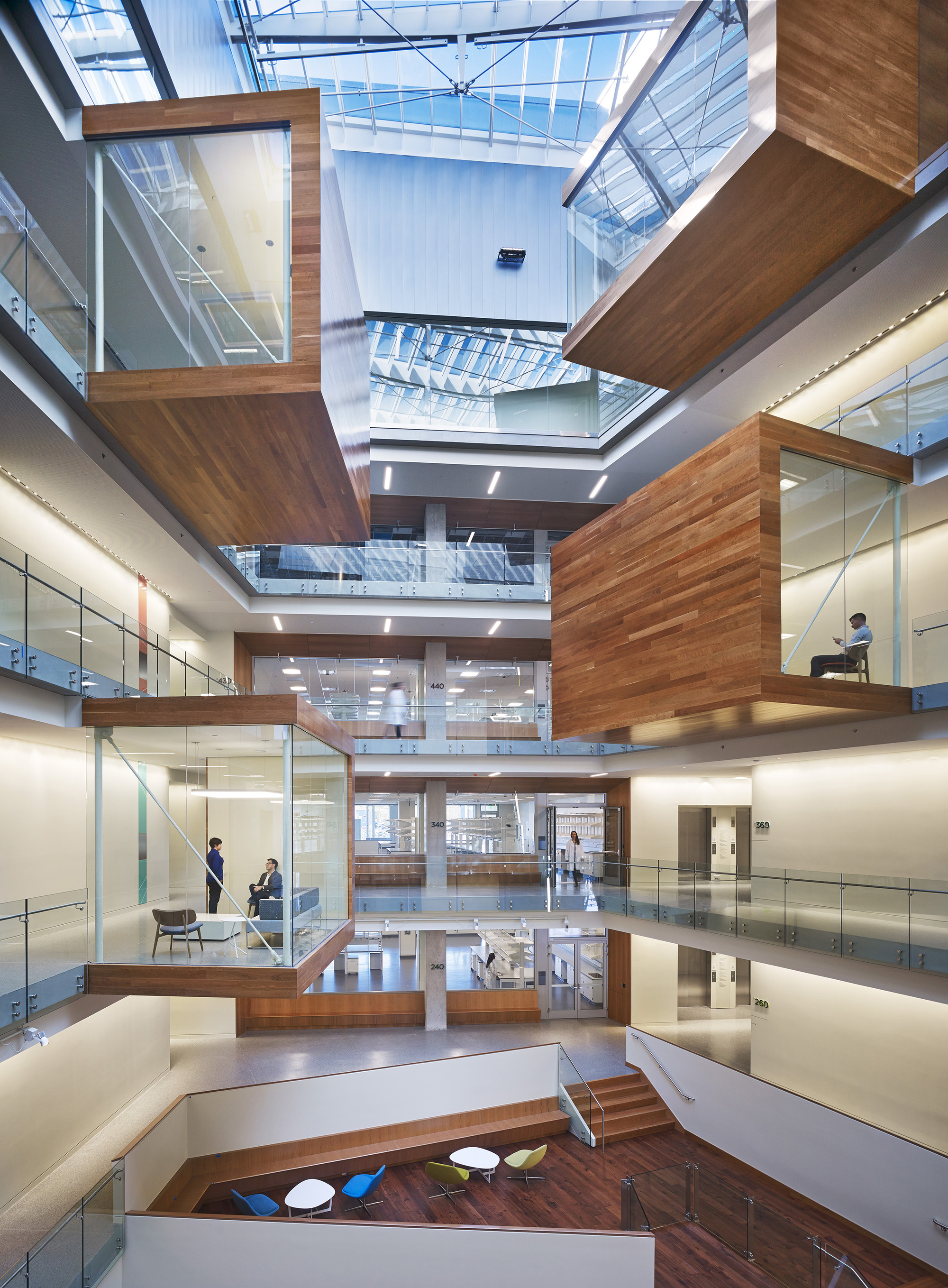 Allen institute perkins will archdaily for Top dallas architecture firms